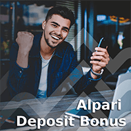 Alpari is promoting a very impressive deposit bonus for its new traders