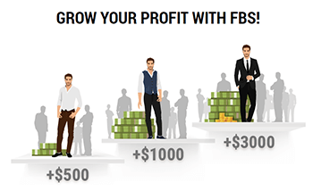 The FBS provides a referral program for its clients through a partner bonus system.