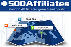 The +500Affiliates program is one of the best in the industry
